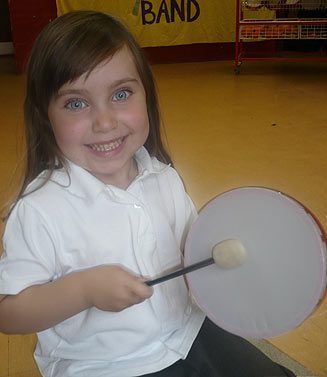 playing-tamborine